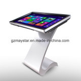 Voller HD Fußboden, der Innen-LCD-Tablette-Screen-Kiosk steht