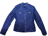 Jaqueta de estofo de moda para as mulheres