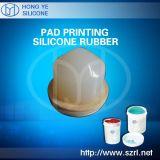 Flüssiger Auflage-Drucken-Silikon-Gummi (HY-912#)