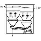 Профессиональная обработка полезных ископаемых Gold тяжести машины с зажимными приспособлениями сепаратора