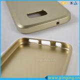 Engrossar a caixa metálica do telefone da pintura TPU para Samsung S4 Mini/S5/S6/S7