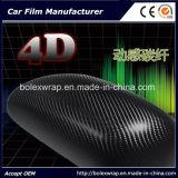 rullo del vinile della fibra del carbonio 4D