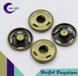 Cor de cobre da tecla do prendedor 4-Hole do metal