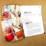 Livre À couverture dure de dos de papier d'imprimerie de livre d'impression de catalogue de qualité
