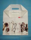 El HDPE imprimió las bolsas de plástico cortadas con tintas para el alimento (FLD-8563)