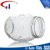 recipiente de alimento elevado do vidro de sílex 350ml (CHJ8080)