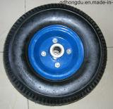 10 인치 단단한 고무 바퀴