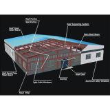 Estructura de acero de la alta calidad del bajo costo para el almacén/el taller/vertido (SL-0063)
