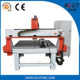 Maquinaria de trabalho personalizada da mini madeira do cortador do router do CNC com giratório