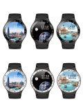De androïde 5.1 Bluetooth4.0 GPS Google APP Telefoons van Smartwatch van de Drijver van de Geschiktheid van het Tarief van het Hart