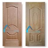 Le prix bas a augmenté/peau convexe de panneau de la porte moulé par HDF 1