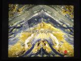 Сляб Onyx фантазии голубой для строительного материала, стен