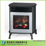 Shandong 4mm 5mm High Temperature Ceramic Fireplace Glass para lareira