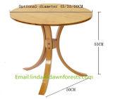 Горячая Продажа мебели маленький круглый Журнальный столик из дерева