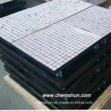 Abschleifende Tonerde-keramischer Gummiplatten-Hersteller für Austrilia Markt