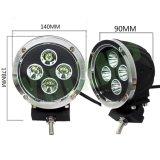 4PCS 10W LEDsのクリー族5.5inch 40W LED作業ライト