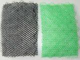 3D Geomat mit Ausdehnungs-Netz drei Schichten der grünen Farben-300GSM