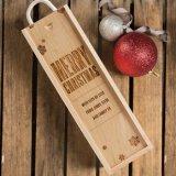 Contenitore di legno personalizzato di qualità superiore di vino rosso di Hotsale con il prezzo più poco costoso