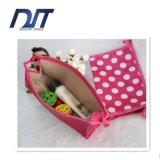 Colorare il sacchetto cosmetico bello del pacchetto promozionale del regalo del sacchetto di trucco del PUNTINO