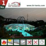 Tienda transparente de la Multi-Cara para el acontecimiento al aire libre con el sistema de iluminación