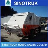 Sinotruk HOWO 6 rodas do veículo Especial 12cbm Compactador caminhão de lixo