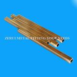 6m de largo duro Cuzn36 llamado tubo de latón cuadrada decorativo