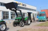 Chargeur frontal de 100hp pour le jardin Fram le tracteur