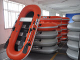 Liya 2.2m-2.8mのかい漁船のゴム製ディンギーの中国のボートの製造業者
