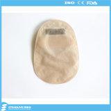 China fornecedor fechado saco de colostomia de duas peças para o hospital