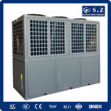 Save70% 힘 Cop4.23 밖으로 60deg. C19kw, 35kw, 70kw 의 105kw 호텔 중앙 물 난방 장치를 위한 상업적인 사용 공기 근원 열 펌프