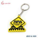 Rpa weiches PVC Keychain/Gummischlüsselring-Großverkauf
