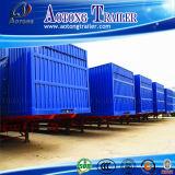 판매를 위한 3명의 Axles 밴 Type Wagon 트럭 트레일러