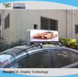 P5 leiden van het Teken van het Dak van de Taxi door 3G/GPS/WiFi wordt gecontroleerd die