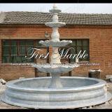 Fontaine fatiguée de quatre Metrix Carrare pour la décoration à la maison Mf-277