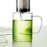 새로운 디자인 손 (CHT8601)를 가진 높은 붕규산염 컵