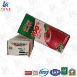 Cartons de carton aseptique pour l'emballage alimentaire liquide