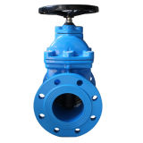 Non-Rising Stem Resilient Seated Gate Valve in Cina