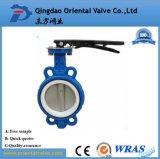 China Fabricante Dn400 Válvula Borboleta Excêntrico Duplo Flangeado