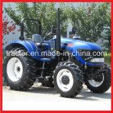 Tractoren de op wielen van het Landbouwbedrijf, 90HP Tractor Fotma (FM904)