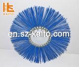 La spazzatrice di strada materiale della via delle scope della cialda dei pp spazzola la spazzola della cialda dell'anello di pulizia della strada