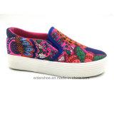 方法女性のズック靴(ET-LD160133W)のスリップ
