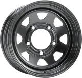 На заводе 4X4 Sport Rim 8 Говорил белый стальной колесный диск для прицепа