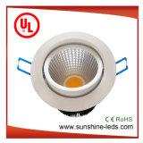 Возможность регулировки яркости 6Вт светодиод початков набегающей на потолке с
