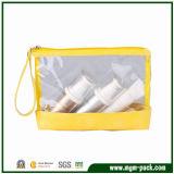 Zipper Closure를 가진 투명한 PVC Material Cosmetic Bag