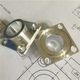 アルミニウムフランジCNCの回転部品