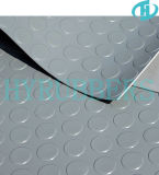 DOT redondo Rubber Sheet, Rubber Floor em Roll