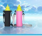熱い550mlネオプレンの水差しのキャリアはカバー袋のホールダーストラップ旅行ツールの取り外し可能な肩ひものメッセンジャーのコップ袋を絶縁した