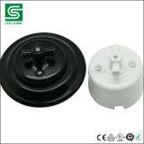 Nuevo tipo socket e interruptor de cerámica retros de la porcelana de la antigüedad