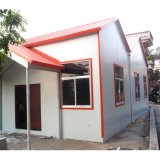 SGS légère en acier préfabriqués chambre avec fenêtre en aluminium