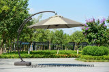Aluminiumlegierung-im Freien doppelter gebogener Rom-Regenschirm